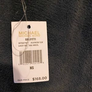 Michael kors convertable  wristlet bag